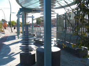 Valley Metro LINK Bus Shelters
